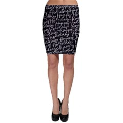 Happy Holidays Bodycon Skirt