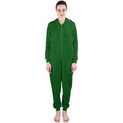Mug Green Hot Tea Coffe Hooded Jumpsuit (Ladies)