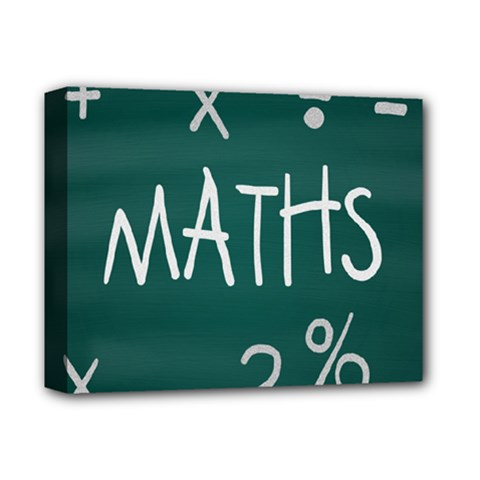 Maths School Multiplication Additional Shares Deluxe Canvas 14  x 11