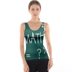 Maths School Multiplication Additional Shares Tank Top
