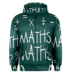 Maths School Multiplication Additional Shares Men s Zipper Hoodie