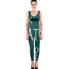 Maths School Multiplication Additional Shares OnePiece Catsuit