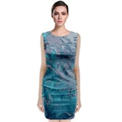 Colors Sleeveless Velvet Midi Dress