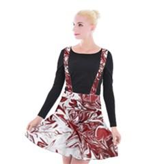 Colors Suspender Skater Skirt