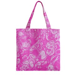 Colors Zipper Grocery Tote Bag