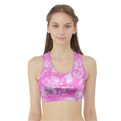 Colors Sports Bra with Border