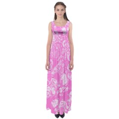 Colors Empire Waist Maxi Dress
