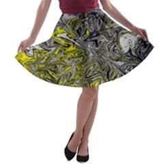 Colors A-line Skater Skirt