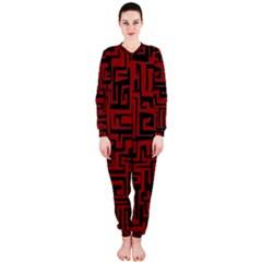 Pattern OnePiece Jumpsuit (Ladies)
