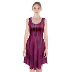 Pattern Racerback Midi Dress