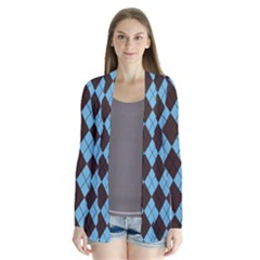 Plaid pattern Cardigans