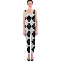 Plaid pattern OnePiece Catsuit