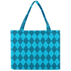 Plaid pattern Mini Tote Bag