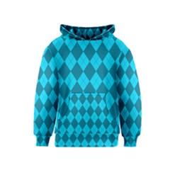 Plaid pattern Kids  Pullover Hoodie