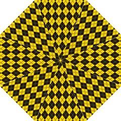 Plaid pattern Hook Handle Umbrellas (Large)