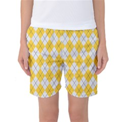 Plaid pattern Women s Basketball Shorts