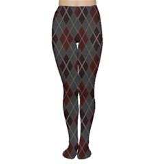 Plaid pattern Women s Tights