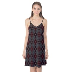 Plaid pattern Camis Nightgown