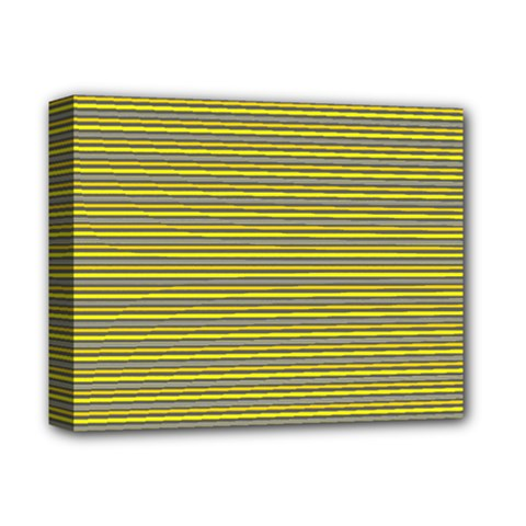 Lines pattern Deluxe Canvas 14  x 11