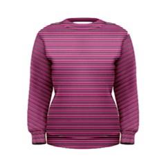 Lines pattern Women s Sweatshirt