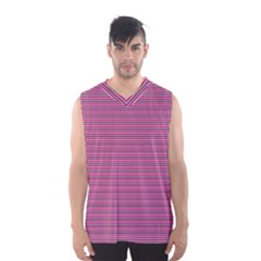 Lines pattern Men s Basketball Tank Top