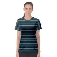 Lines pattern Women s Sport Mesh Tee