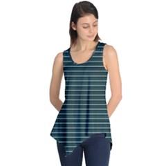 Lines pattern Sleeveless Tunic