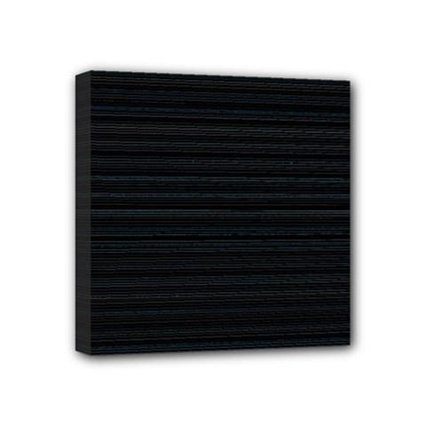 Lines pattern Mini Canvas 4  x 4