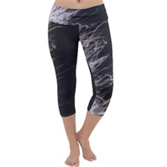 Fire Capri Yoga Leggings