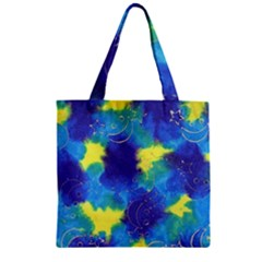 Mulberry Paper Gift Moon Star Zipper Grocery Tote Bag