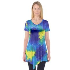 Mulberry Paper Gift Moon Star Short Sleeve Tunic