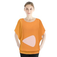 Screen Shot Circle Animations Orange White Line Color Blouse