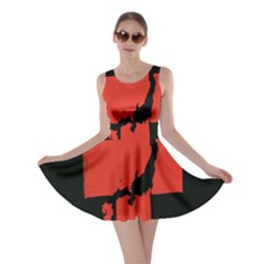 Sign Health Red Black Skater Dress