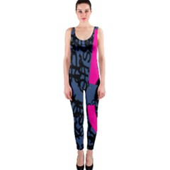 Recursive Reality Number OnePiece Catsuit