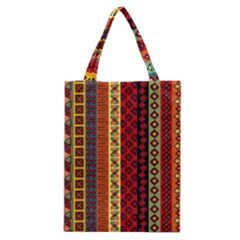 Tribal Grace Colorful Classic Tote Bag