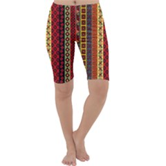 Tribal Grace Colorful Cropped Leggings