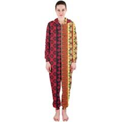 Tribal Grace Colorful Hooded Jumpsuit (Ladies)
