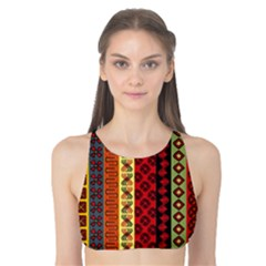 Tribal Grace Colorful Tank Bikini Top
