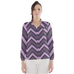 Zigzag pattern Wind Breaker (Women)