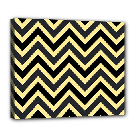 Zigzag pattern Deluxe Canvas 24  x 20