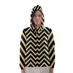 Zigzag pattern Hooded Wind Breaker (Women)