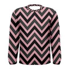 Zigzag pattern Men s Long Sleeve Tee
