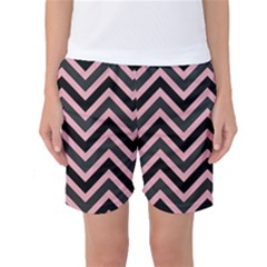 Zigzag pattern Women s Basketball Shorts