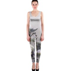 Watercolour OnePiece Catsuit