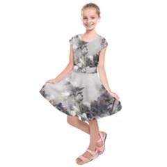 Watercolour Kids  Short Sleeve Dress