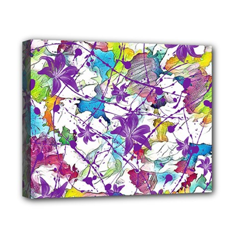 Lilac Lillys Canvas 10  x 8