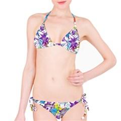 Lilac Lillys Bikini Set