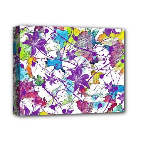 Lilac Lillys Deluxe Canvas 14  X 11