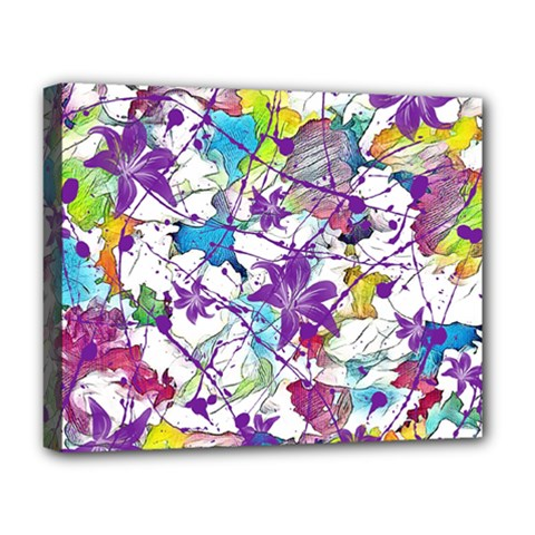 Lilac Lillys Deluxe Canvas 20  x 16