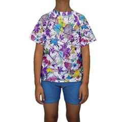 Lilac Lillys Kids  Short Sleeve Swimwear